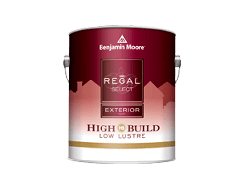 Benjamin Moore regal select exterior high build low lustre paint