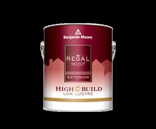 Benjamin Moore regal select exterior high build low lustre paint