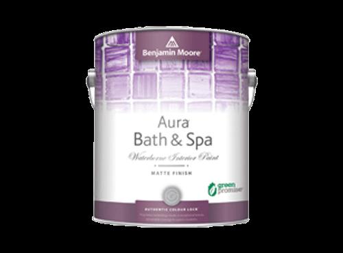 Benjamin Moore Aura bath & spa paint