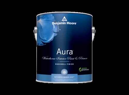 Benjamin Moore aura waterborne paint