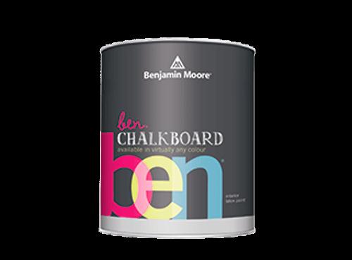 Benjamin Moore ben chalkboard paint