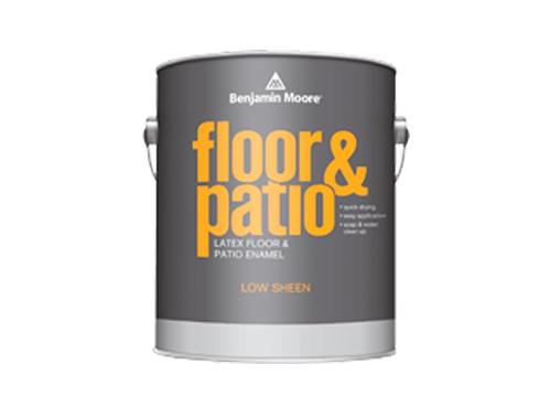 Benjamin Moore floor and patio latex floor and patio enamel paint
