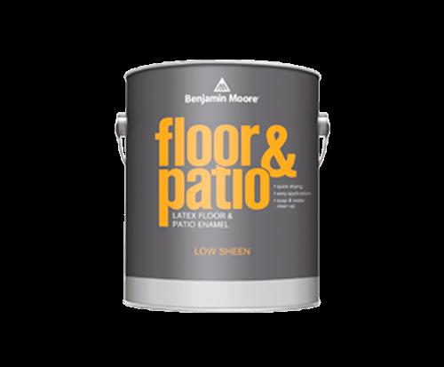 Benjamin Moore floor and patio latex floor and patio enamel paint