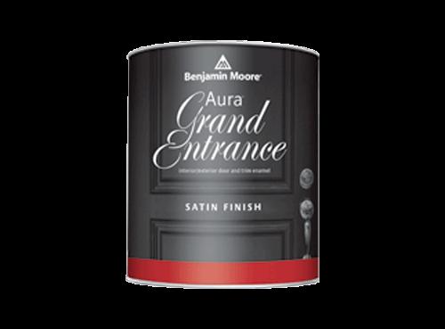 Benjamin Moore aura grand entrance satin finish paint