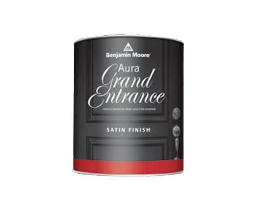 Benjamin Moore aura grand entrance satin finish paint
